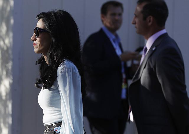 Huma Abedinová, dlhoročná osobná asistentka Hillary Clintovej