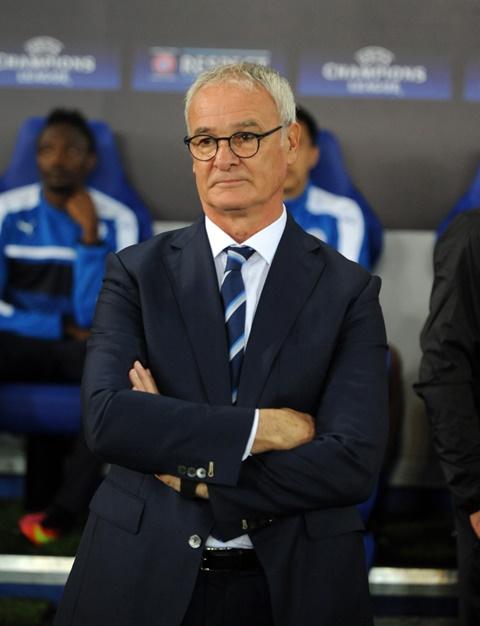 Na snímke tréner futbalistov Leicestru Claudio Ranieri