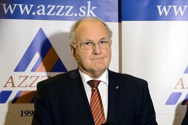 Na snímke Dušan Čaplovič