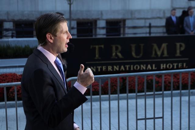 Na snímke Eric Trump