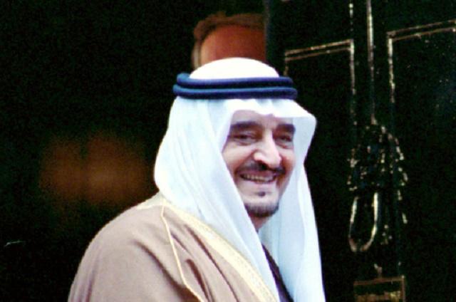 Na snímke bývalý saudskoarabský kráľ Fahd
