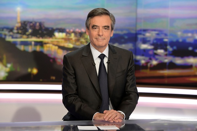 Francúzsky prezidentský republikánsky kandidát Francois Fillon