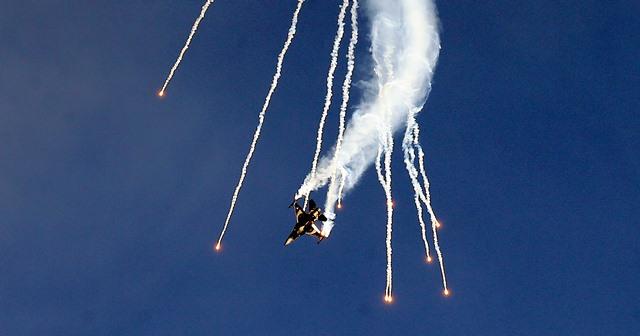 Na snímke Viacúčelové lietadlo General Dynamics (Lockheed Martin) F-16 Fighting Falcon