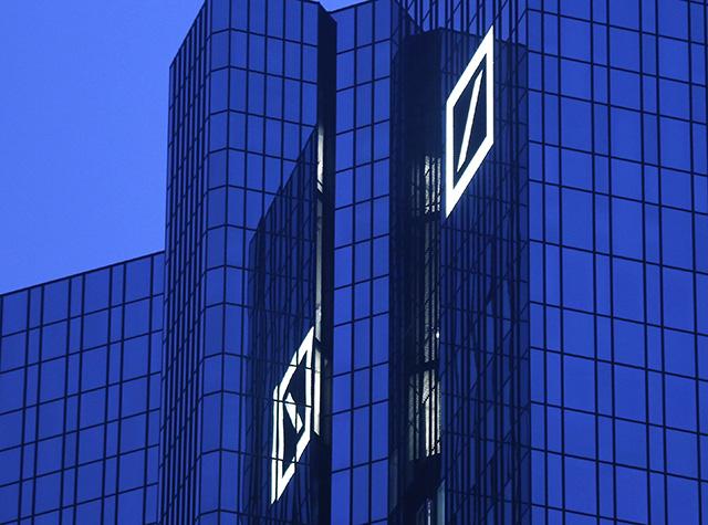 sídlo budova Deutsche Bank