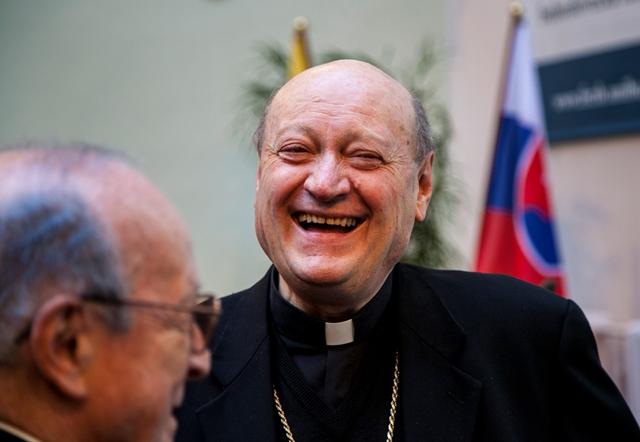 Na snímke kardinál Gianfranco Ravasi