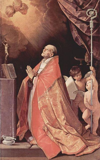Na snímke svätý Ondrej Corsini
