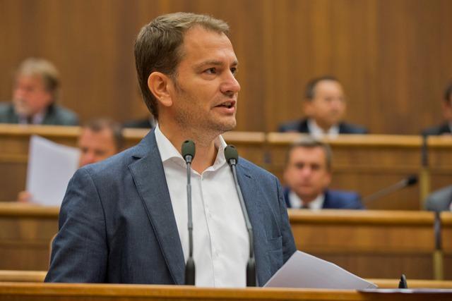 Na snímke poslanec Igor Matovič (OĽaNO-NOVA)