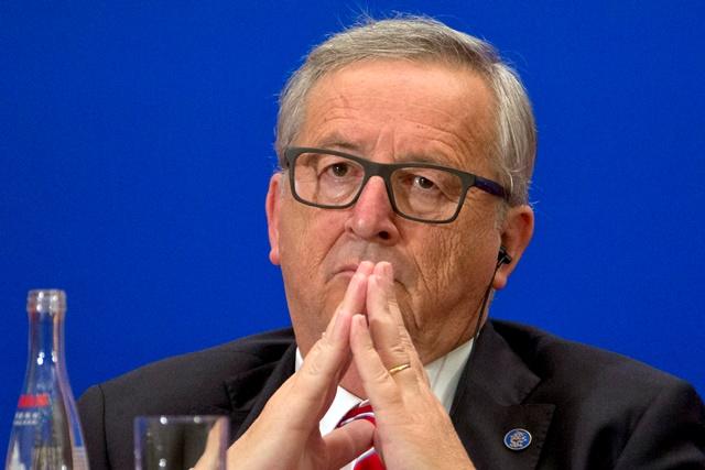 Na snímke  Jean-Claude Juncker