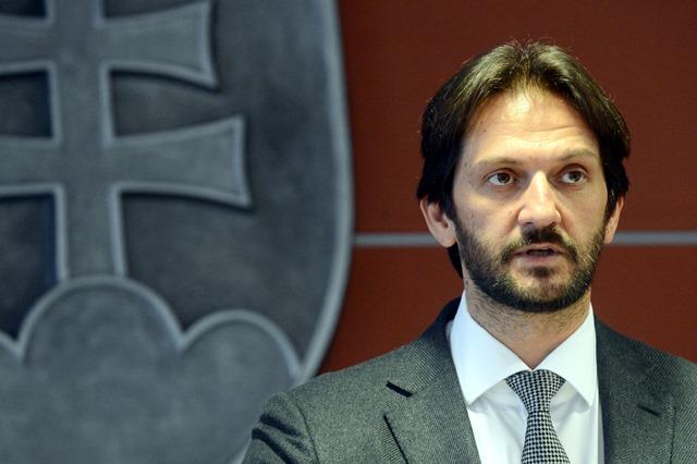 Na snímke podpredseda vlády SR a minister vnútra SR Robert Kaliňák
