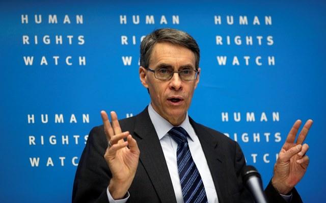 Na snímke riaditeľ Human Rights Watch Kenneth Roth