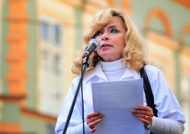 Na snímke Mária Lévyová