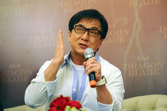Hongkongský herec Jackie Chan