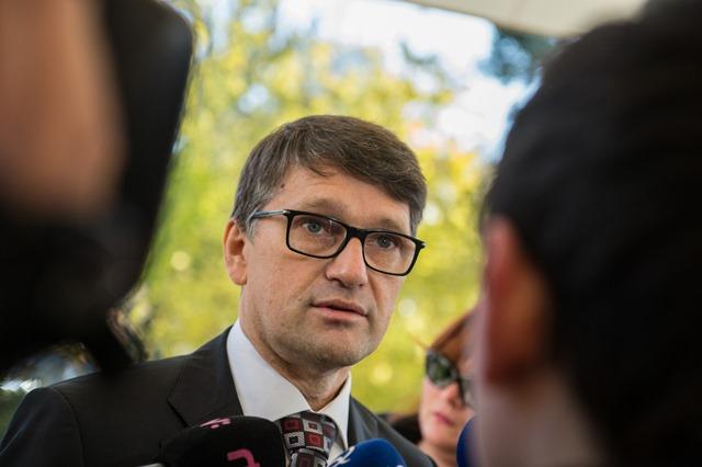 Na snímke minister kultúry Marek Maďarič