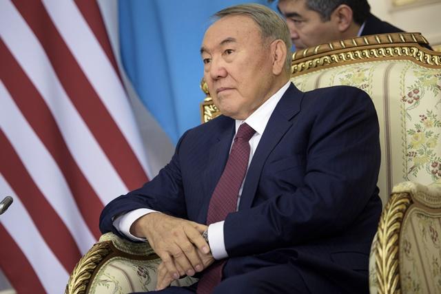 Na snímke Nursultan Nazarbajev