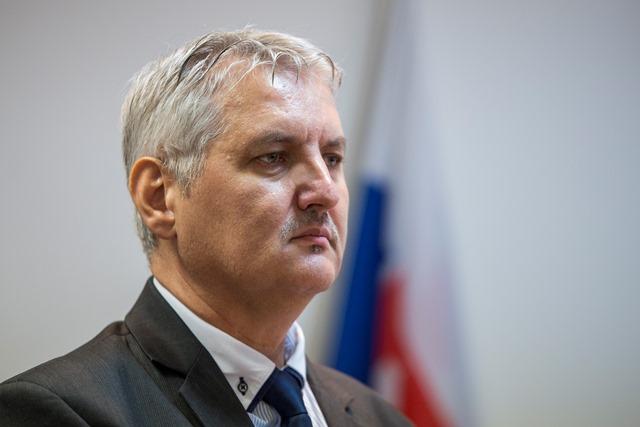 Na snímke predseda Správnej rady Ústavu pamäti národa (ÚPN) Ondrej Krajňák