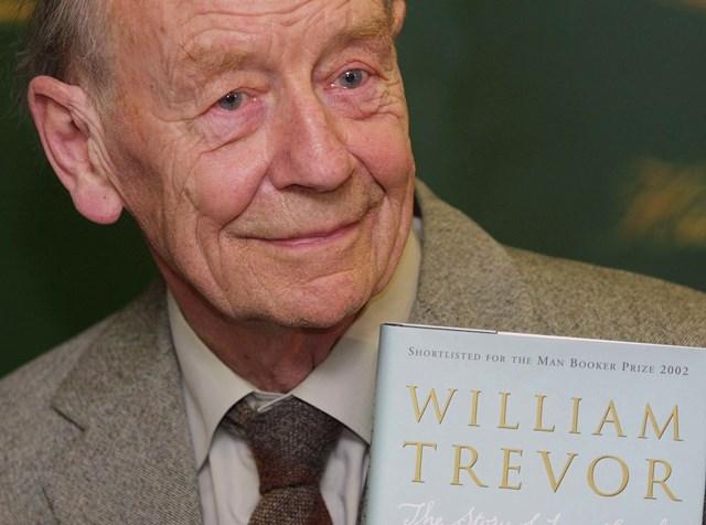 Na snímke William Trevor