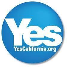 Na snímke logo hnutia Yes California