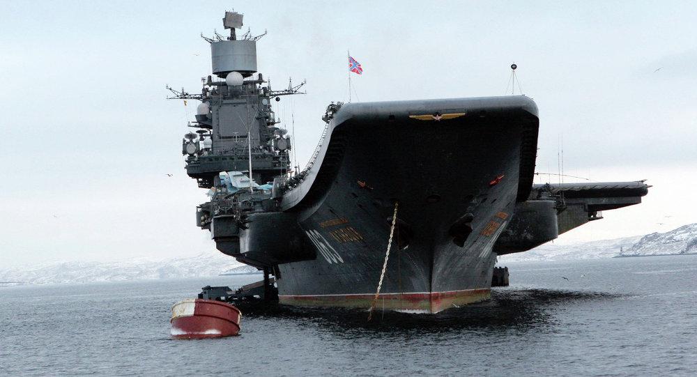 Ťažký lietadlový krížnik Admirál Kuznecov