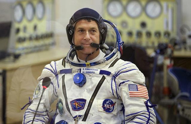 Na archívnej snímke z 19. novembra 2016 je americký astronaut Shane Kimbrough