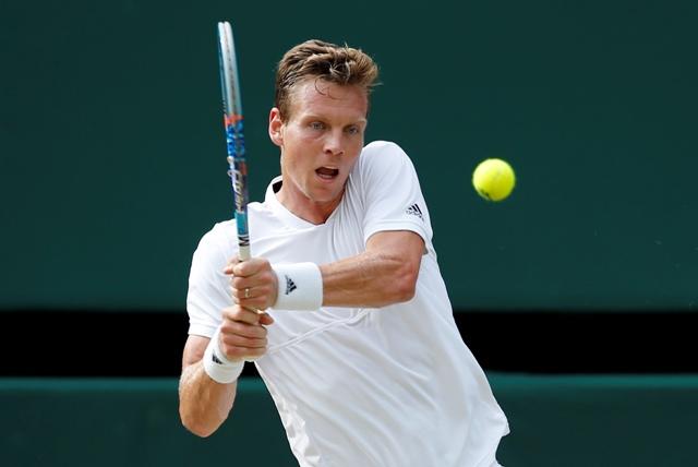Na snímke český tenista Tomáš Berdych