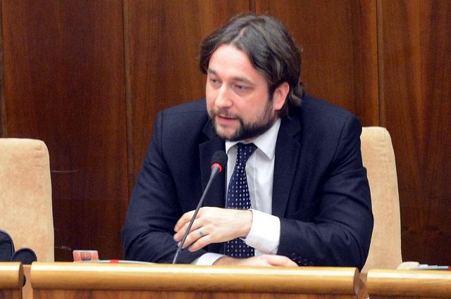 Na snímke Ľuboš Blaha