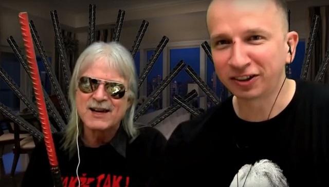 Na snímke Rudolf Vaský (vľavo) a Martin Daňo