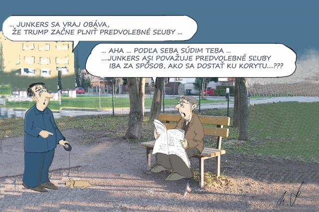 Karikatúra Mira Havlíčka