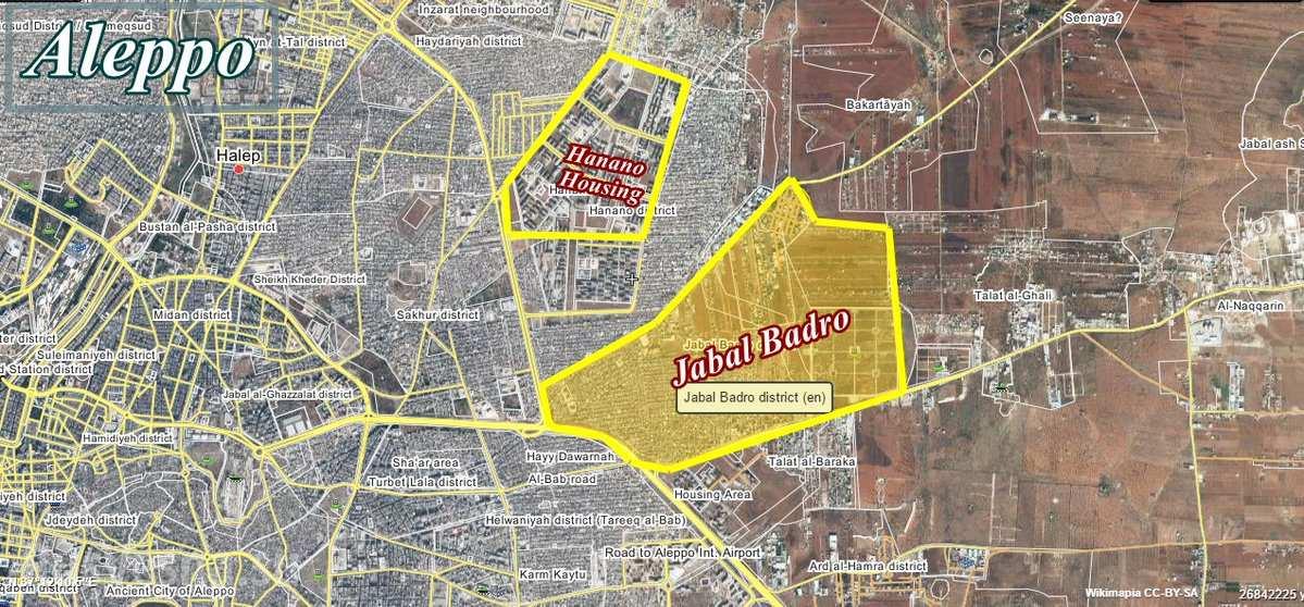 Momentálna situácia v Aleppe