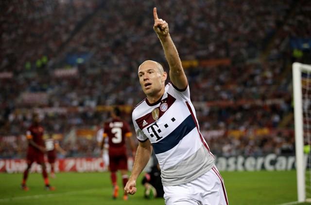 Na snímke Arjen Robben
