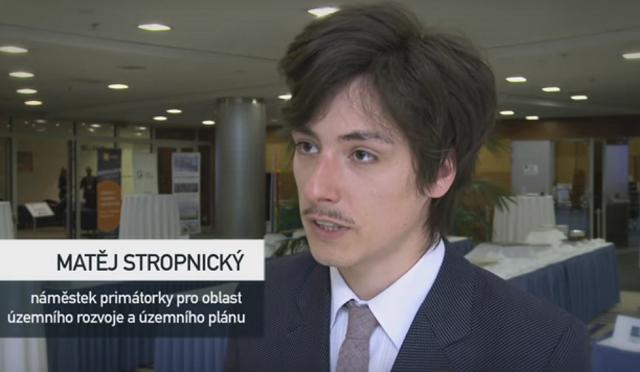 Predseda Strany zelených Matěj Stropnický