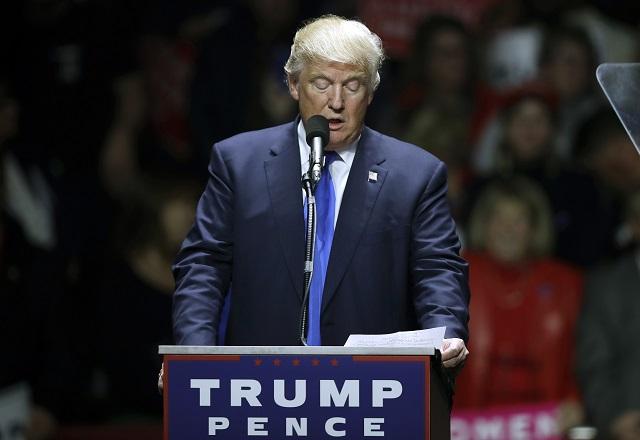 Republikánsky kandidát na amerického prezidenta Donald Trump