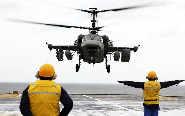 Vrtuľník Kamov Ka-52K