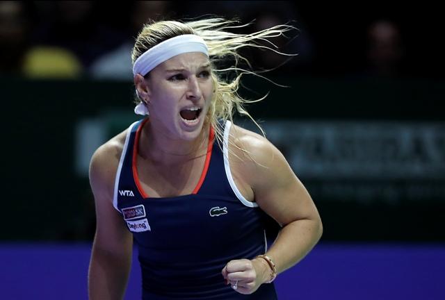 Na snímke slovenská tenistka Dominika Cibulková