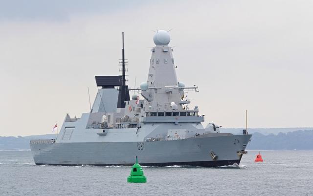 Na snímke HMS Duncan