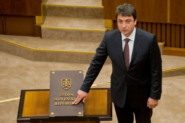 Na snímke poslanec NR SR Péter Vörös