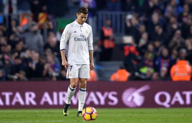 Na snímke Cristiano Ronaldo