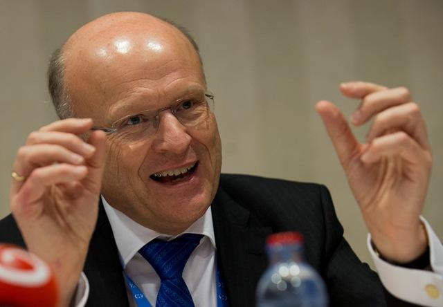 Na snímke predseda Súdneho dvora EÚ Koen Lenaerts