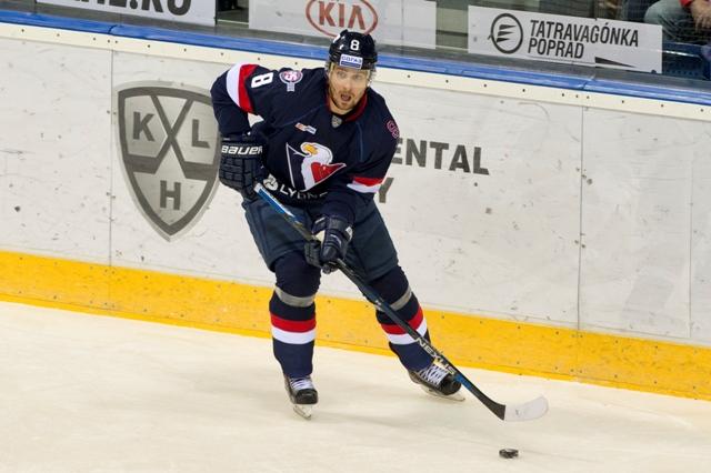 Na snímke Michal Sersen (Slovan)