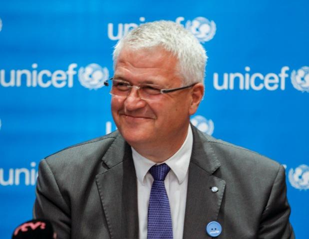 Na snímke predseda Slovenského výboru pre UNICEF Juraj Mišura