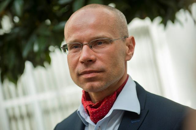 Na snímke prezident Asociácie súkromných lekárov SR (ASL SR) Marián Šóth
