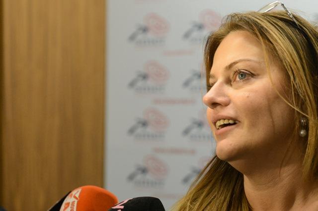 Na snímke poslankyňa Európskeho parlamentu (EP) Monika Flašíková Beňová