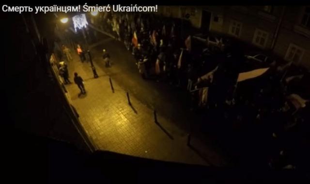 Kyjev žiada vyšetriť incident na antiukrajinskom pochode v poľskom Przemyšle