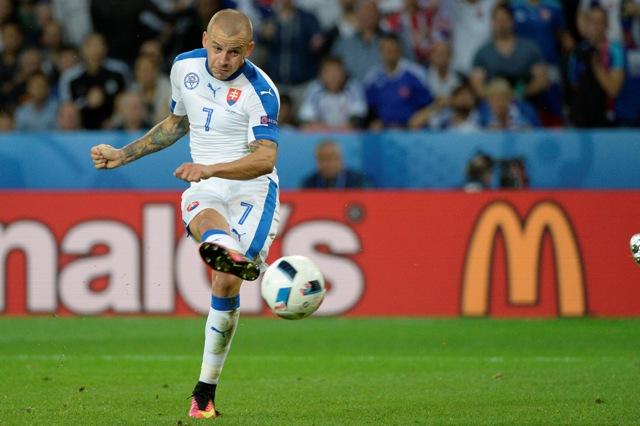 Na snímke slovenský futbalista Vladimír Weiss