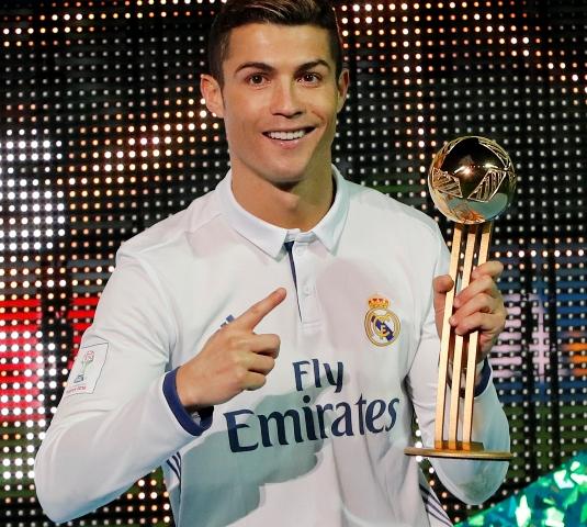 Hrdinom duelu bol portugalský reprezentant Cristiano Ronaldo (na snímke)