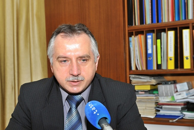 Na snímke riaditeľ Spojenej školy v Kysuckom Novom Meste Milan Valek