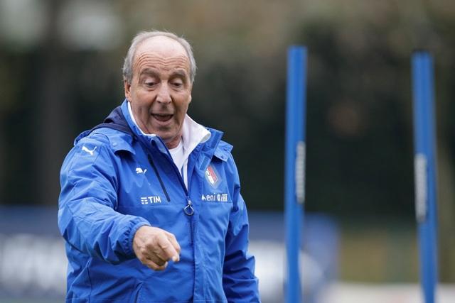 Na snímke tréner talianskej futbalovej reprezentácie Giampiero Ventura