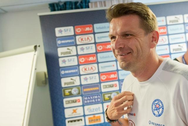 Na snímke asistent trénera slovenskej futblovej reprezentácie Štefan Tarkovič