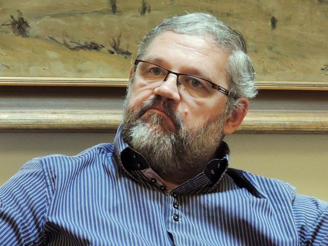Na snímke riaditeľ Múzea Slovenského národného povstania v Banskej Bystrici Stanislav Mičev