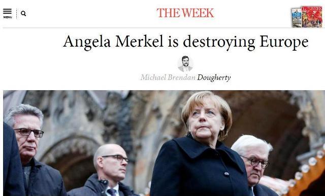 """The Week: """"Angela Merkelová ničí Európu"""""""