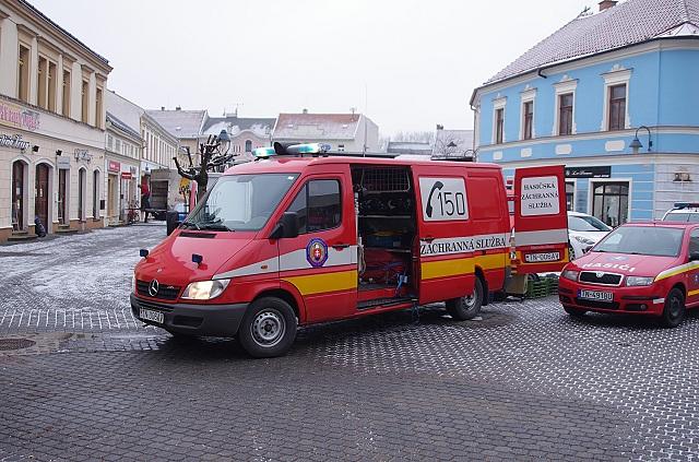 Do podateľne Okresného úradu v Trenčíne v pondelok 19. decembra 2016 doručili obálku s podozrivým obsahom